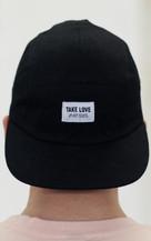 Take Love 5 Panel Hat