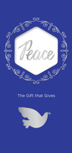 Gift of Peace-Blue $50