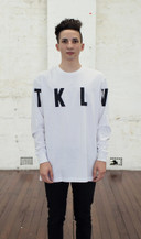 TKLV Long Sleeve - White