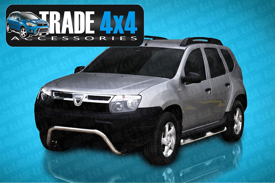 dacia duster side steps duster 4x4 accessories dacia duster side bars side steps. Black Bedroom Furniture Sets. Home Design Ideas