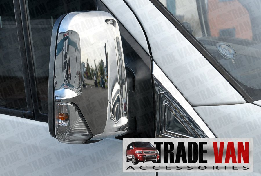 Mercedes sprinter chrome mirror covers sprinter mirror for Mercedes benz chrome accessories