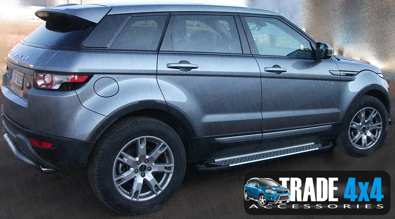 Evoque side steps sidesteps landrover evoque side steps