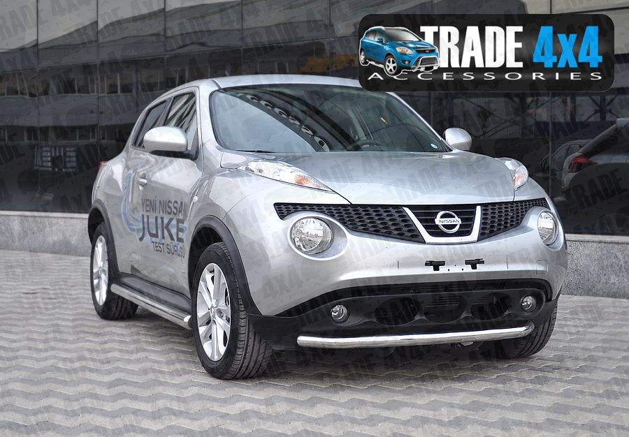 nissan juke front bar nissan juke front viper styling accessories 4x4 accessories at trade. Black Bedroom Furniture Sets. Home Design Ideas