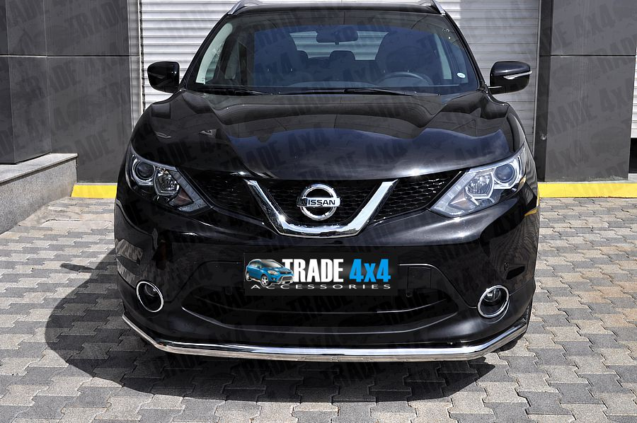 nissan qashqai 2014 front city bar lower stainless steel. Black Bedroom Furniture Sets. Home Design Ideas