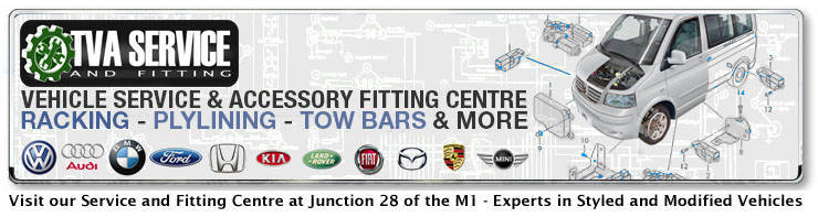 Click here to Book a Service or Fitting at our Facility at Junction 28 of the M1 - Experts in Styled and Modified Vehicles