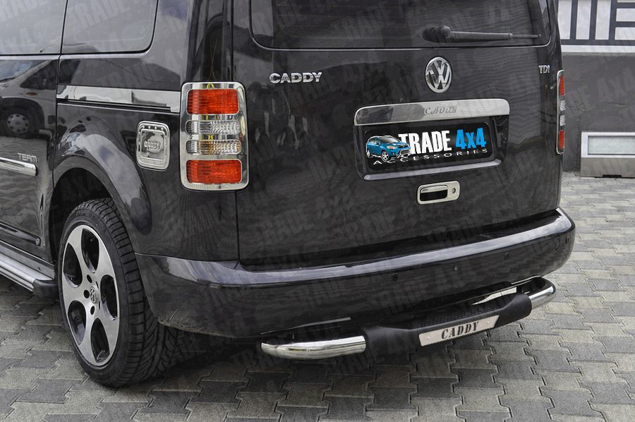 Volkswagen Caddy Rear Step Bar Vw Caddy Rear Styling