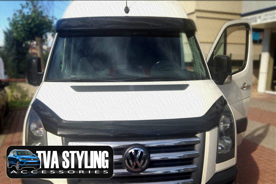 volkswagen t4 sun visor shield vw t4 front styling accessories trade van and tva styling. Black Bedroom Furniture Sets. Home Design Ideas