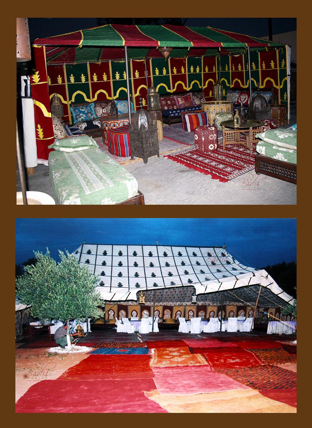 Arabian Nights Party Rental from Badia Design Inc.