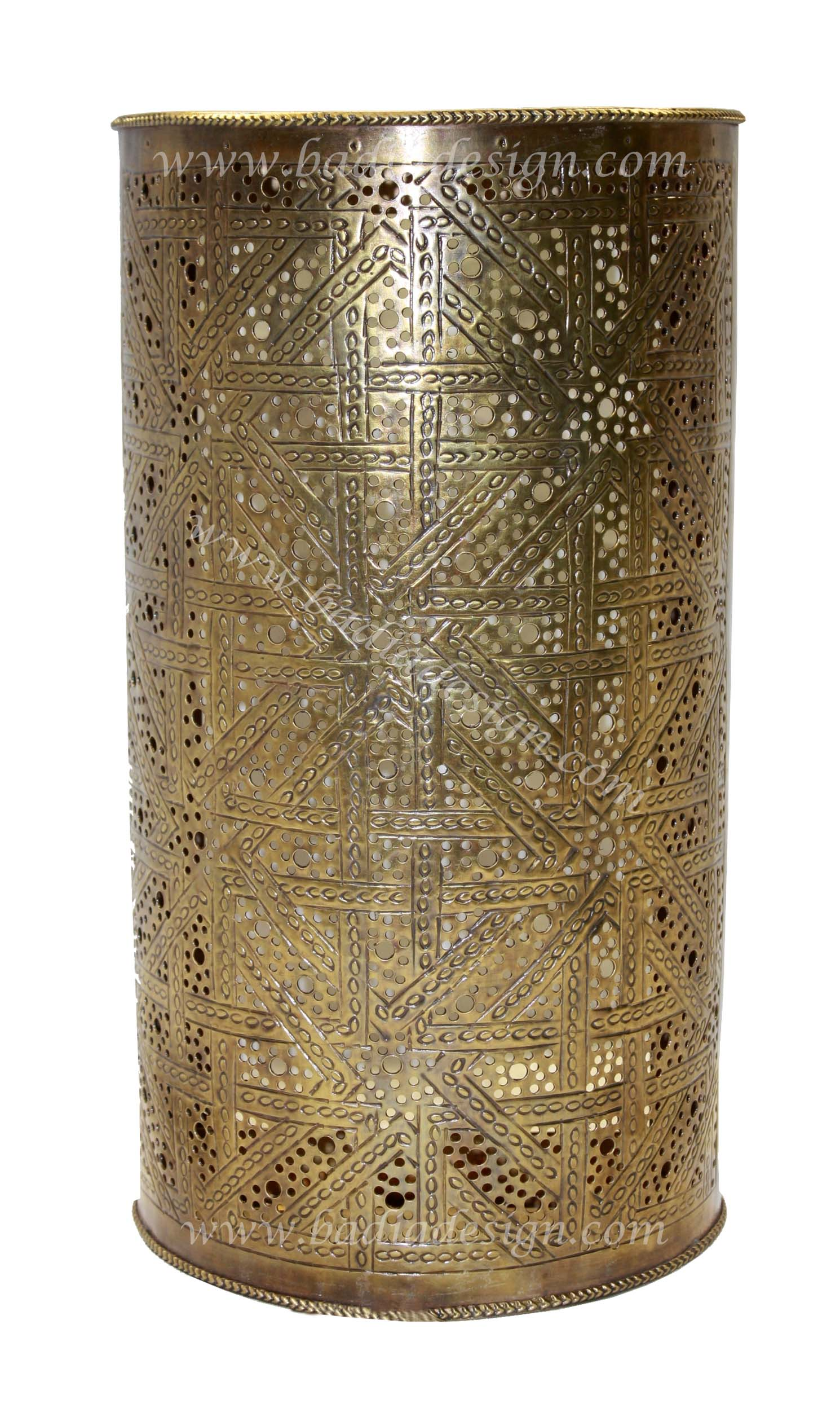 Moroccan Brass Wall Lights : Moroccan Brass Wall Sconce from Badia Design Inc.