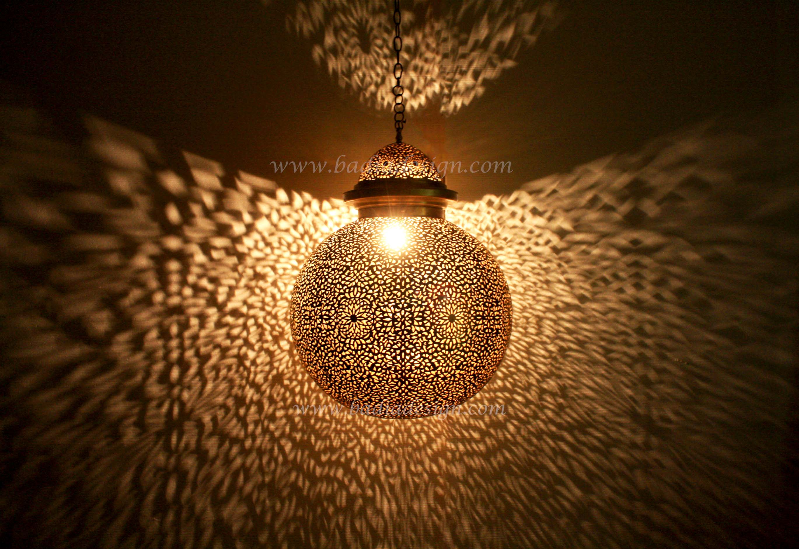 Moroccan Brass Lantern Great Pictures