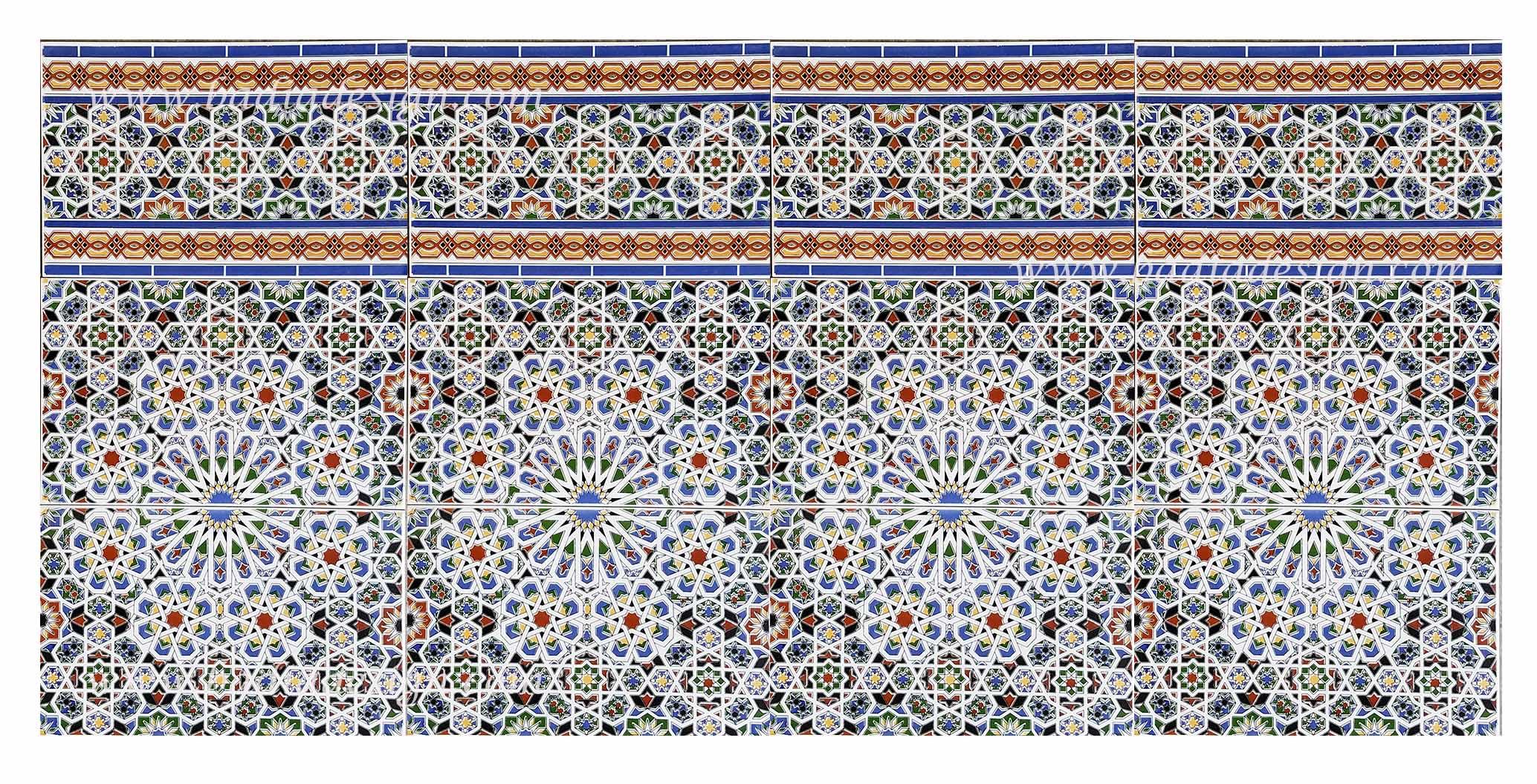 Moroccan fez tile from badia design inc for Fez tiles