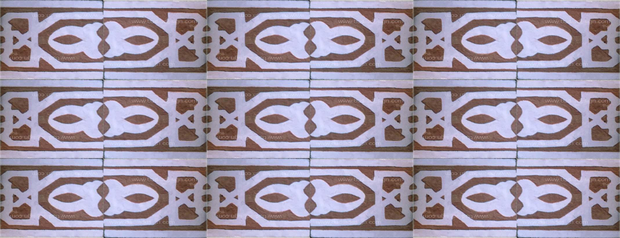 Moroccan Hand Chiseled Tile
