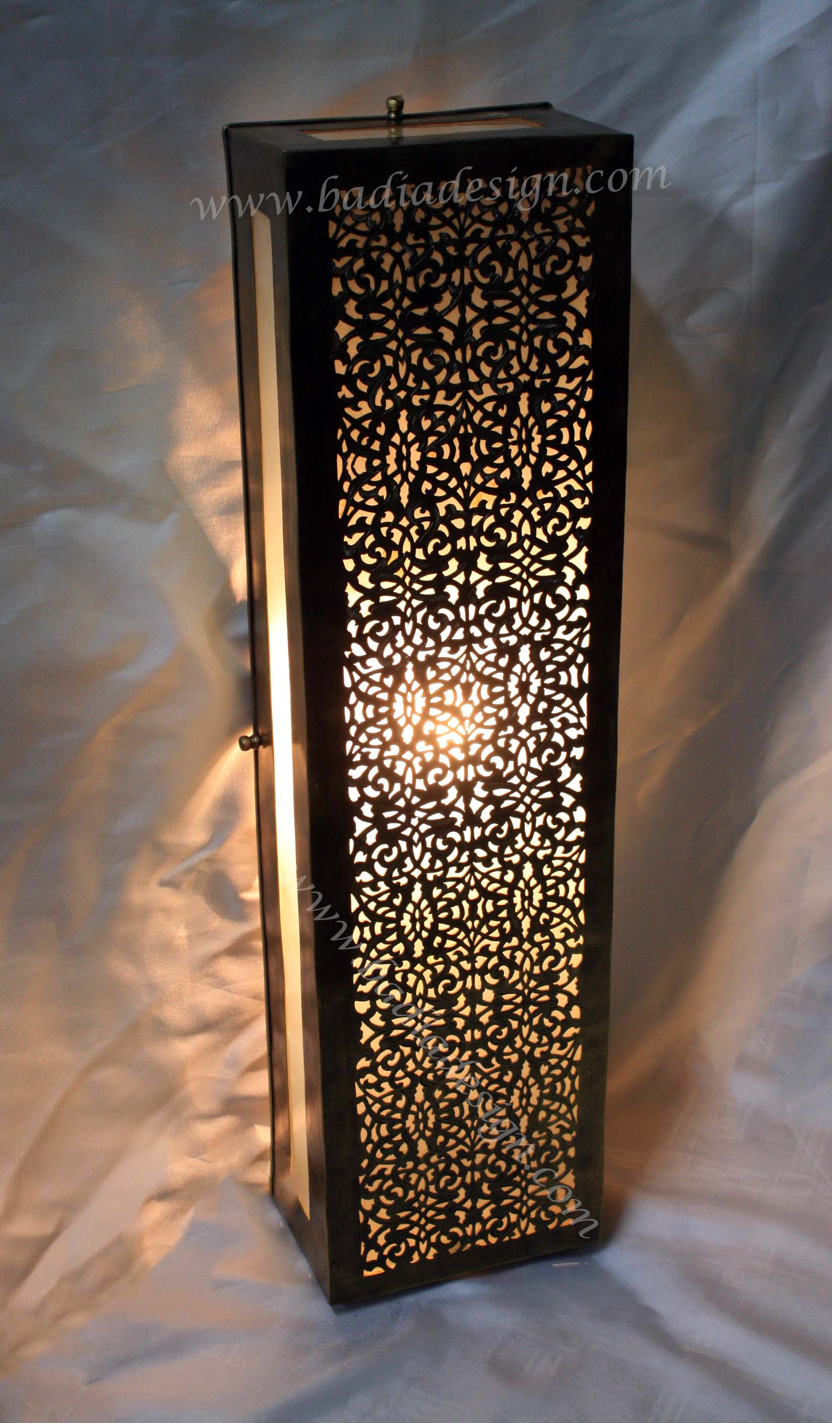 moroccan lighting minneapolisjpg Moroccan Brass Wall Sconce with White