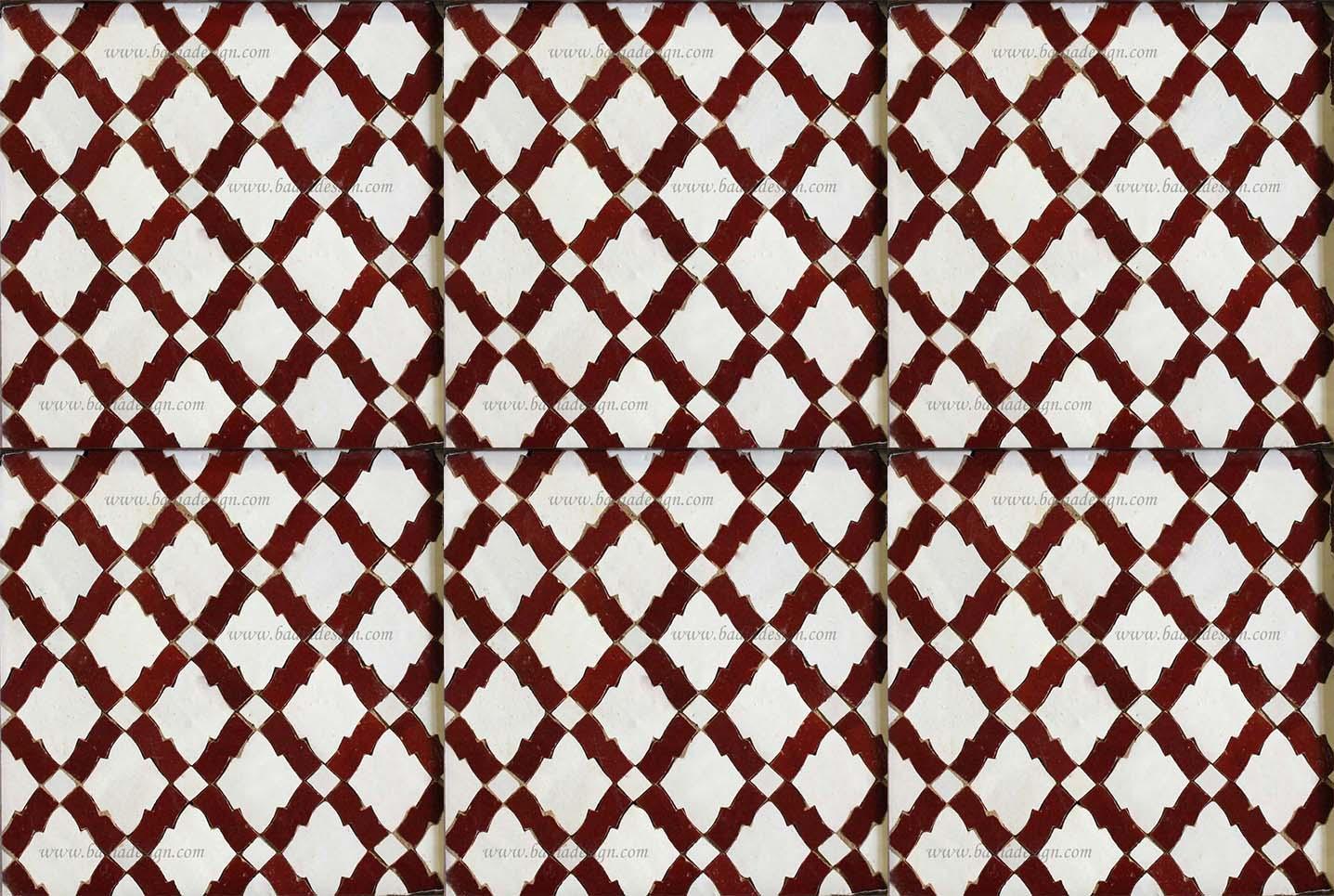 Moroccan mosaic ceramic tile from badia design inc dailygadgetfo Images
