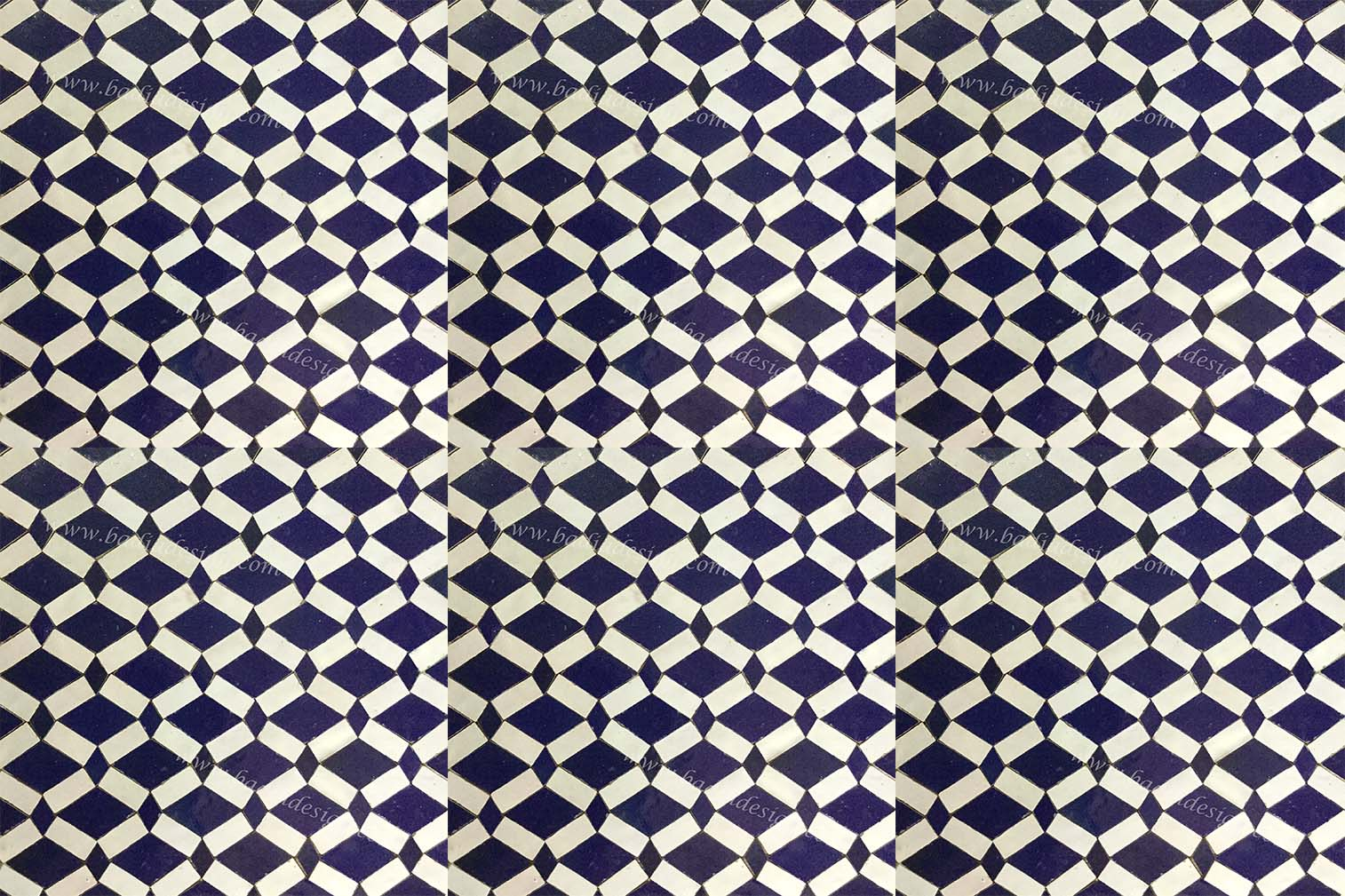 Moroccan mosaic ceramic tile from badia design inc Moroccan ceramic floor tile