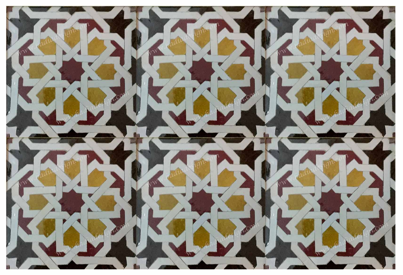 Moroccan mosaic floor tile from badia design inc moroccan mosaic floor tile dailygadgetfo Image collections
