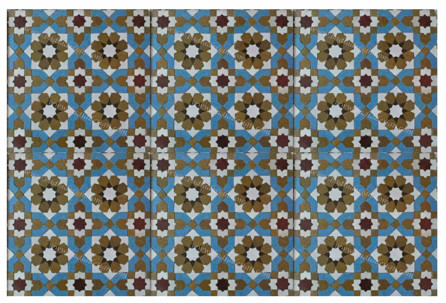 Moroccan mosaic floor tile from badia design inc moroccan mosaic floor tiles from badia design inc dailygadgetfo Image collections