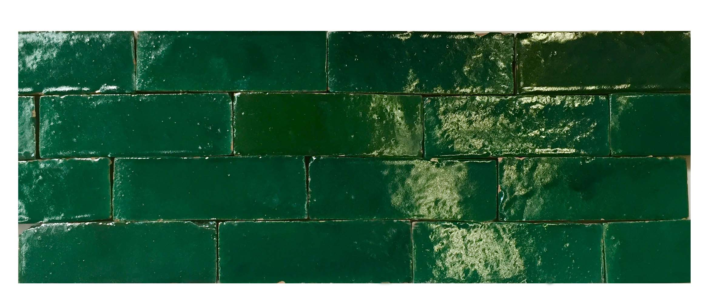 Moroccan Green Tiles from Badia Design Inc.