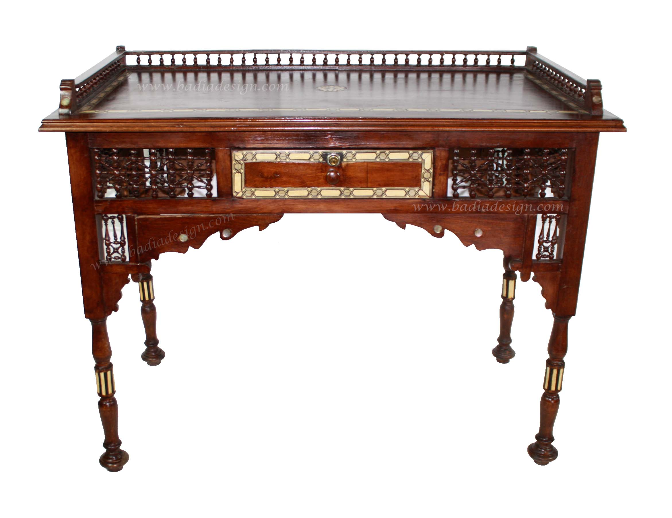 Moroccan Wooden Buffet Table