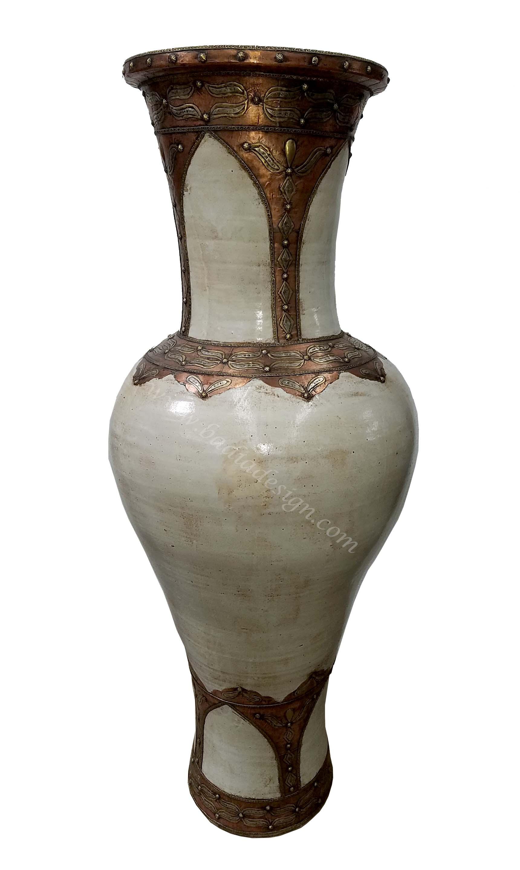 Tall Moroccan Urn