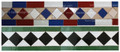 Moroccan Mosaic Border Tile - BT012