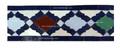 Moroccan Mosaic Border Tile - BT018