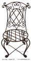 Wrought Iron Chair IC3