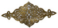Hand Punched Decorative Brass Plate HD094