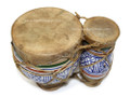 Moroccan Ceramic Drum Set Mi023