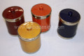 Solid Color Ceramic Cup with Lid CER-C002