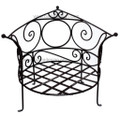 Wrought Iron Low to Floor Chair IC26