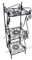 Wrought Iron 3 Tier Rack IS4