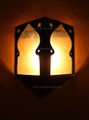 Rustic Iron Wall Sconce WL107