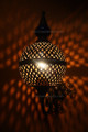 Moroccan Wall Sconce with Metal and Ceramic Ball - WL109