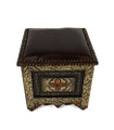 Metal and Bone Ottoman - MB-CH005
