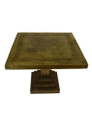 Antique Brass Square Side Table BR-ST001