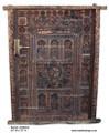 Hand Carved Wooden Door - CWD003