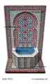 Mosaic Tile Straight Top Water Fountain - MF502