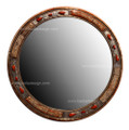 Round Bone-Metal Mirror M-MB017