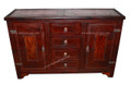 Moroccan Hard Leather Cabinet ML-CA005