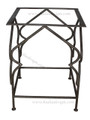 Square Wrought Iron Table Base - TB15