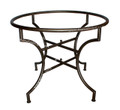 Round Wrought Iron Table Base - TB23