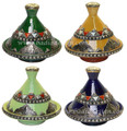 Moroccan Metal and Bone Tajine - TJ115