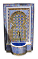 Moroccan Mosaic Tile Wall Fountain - MF624