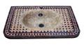 Moroccan Mosaic Tile Sink - MS029