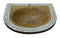 Moroccan Mosaic Tile Sink - MS030