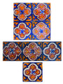 Moroccan Hand Painted Tiles - CT029