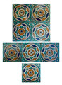 Mosaic Hand Painted Tiles - CT032