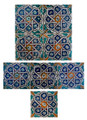 Moroccan Mosaic Hand Painted Tiles - CT035