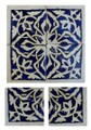 Moroccan Mosaic Hand Painted Tiles - CT036